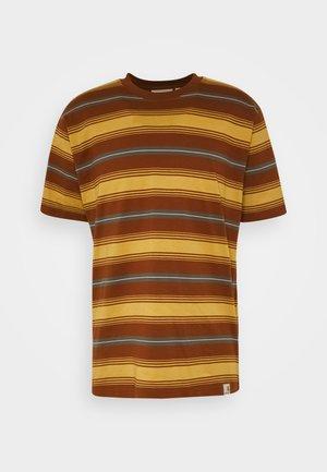 BUREN  - Print T-shirt - buren/brandy