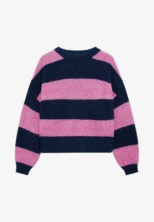 MIT STREIFEN - Jumper - pink
