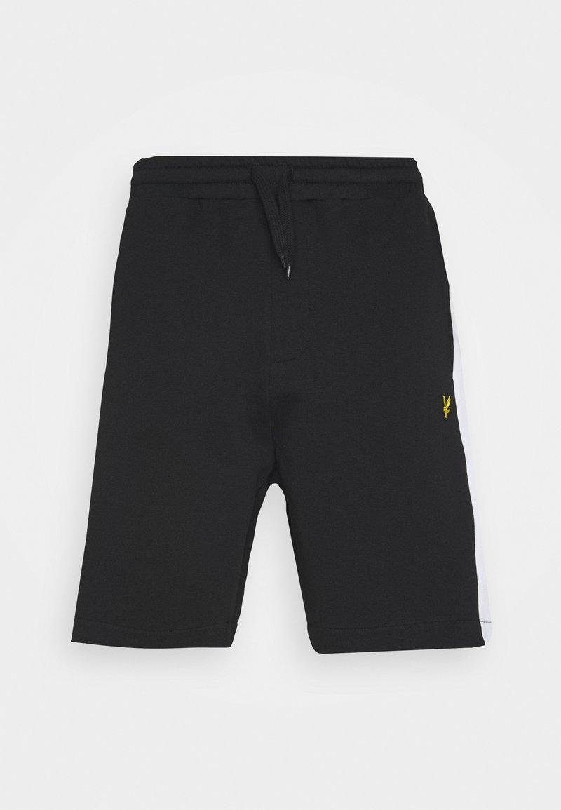 Lyle & Scott - SIDE STRIPE - Shorts - jet black