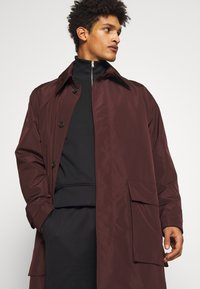 Tiger of Sweden - ACAULE - Classic coat - burgundy - 3