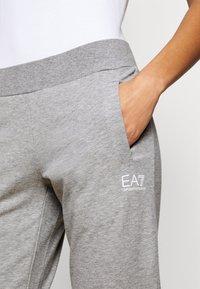 EA7 Emporio Armani - TROUSER - Tracksuit bottoms - grey med melange - 4