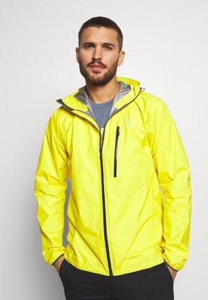 JACKET MEN - Hardshell jacket - signal yellow