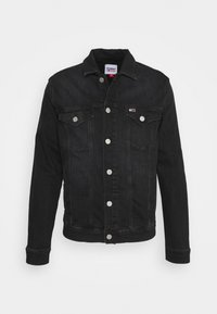 Tommy Jeans - REGULAR TRUCKER JACKET - Jeansjacka - max black - 5