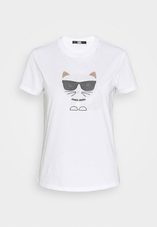 IKONIK CHOUPETTE  - T-shirt med print - white