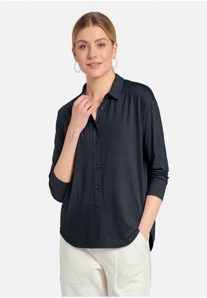 Button-down blouse - marine