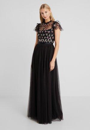 ROCOCO BODICE MAXI DRESS - Společenské šaty - ballet black
