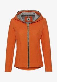 camel active - SCUBA - Zip-up hoodie - orange - 5