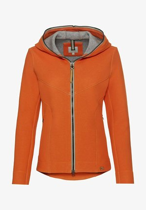 SCUBA - Zip-up hoodie - orange