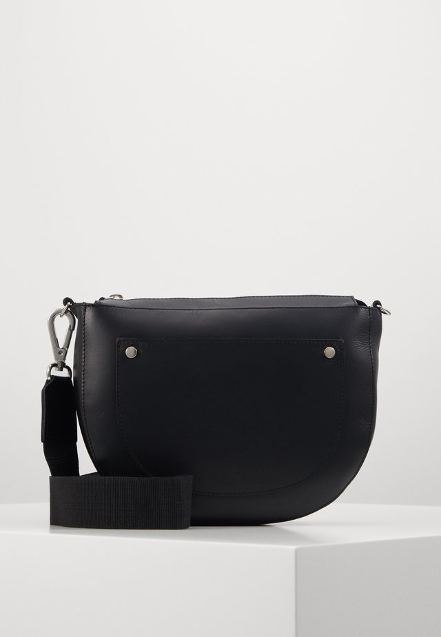 ALFIE SHOULDERBAG - Across body bag - black