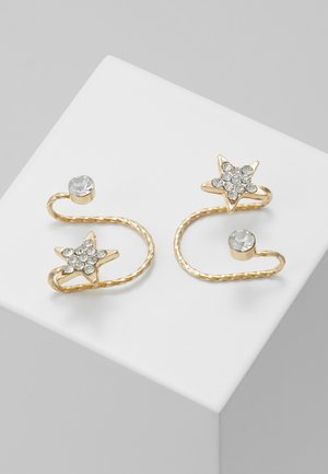 EAR CUFF 2 PACK - Øredobber - gold-coloured