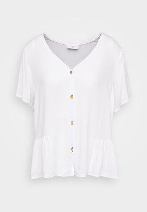 Blouse - brilliant white