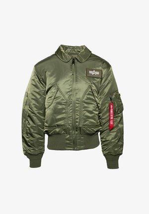 Winter jacket - sage green (100102-01)
