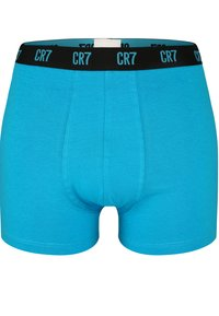 Cristiano Ronaldo CR7 - CRISTIANO RONALDO BASIC RETROSHORTS 3-PACK - Pants - blue.dark blue/grey - 3