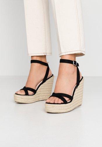 ELISHA - High heeled sandals - black