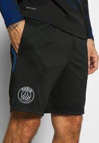 Nike Performance - PARIS ST GERMAIN  - Sportovní kraťasy - black/hyper cobalt/white - 3