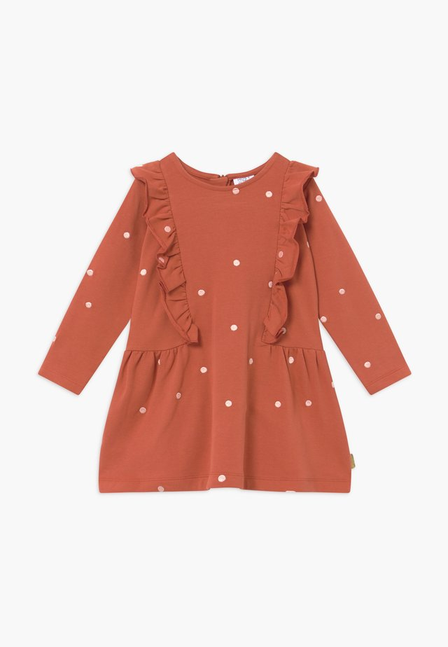 DELPHINA  - Denní šaty - rusty