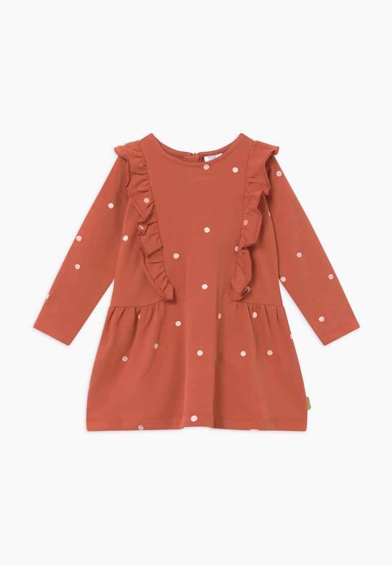 Hust & Claire - DELPHINA  - Denní šaty - rusty