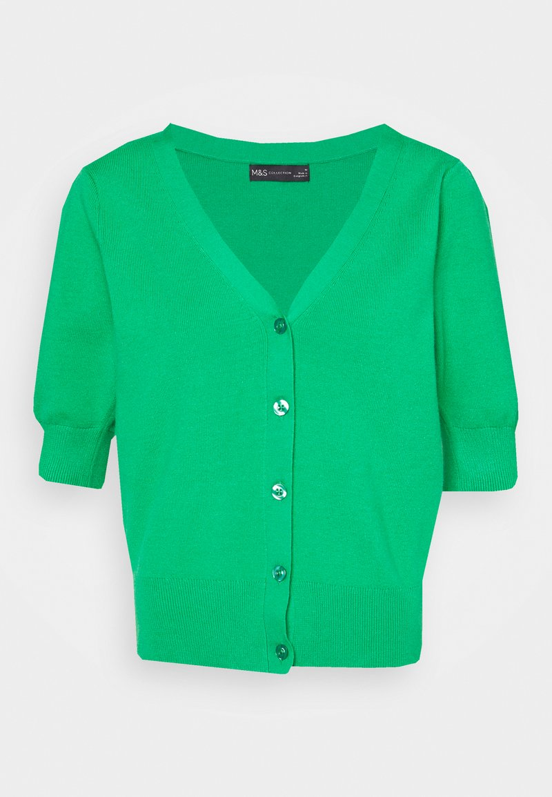 Marks & Spencer London - PRETTY CARDI - Cardigan - green