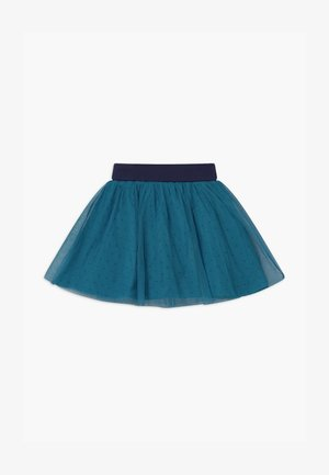 SMALL GIRLS - A-lijn rok - blue saphire