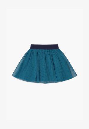 SMALL GIRLS - A-line skirt - blue saphire