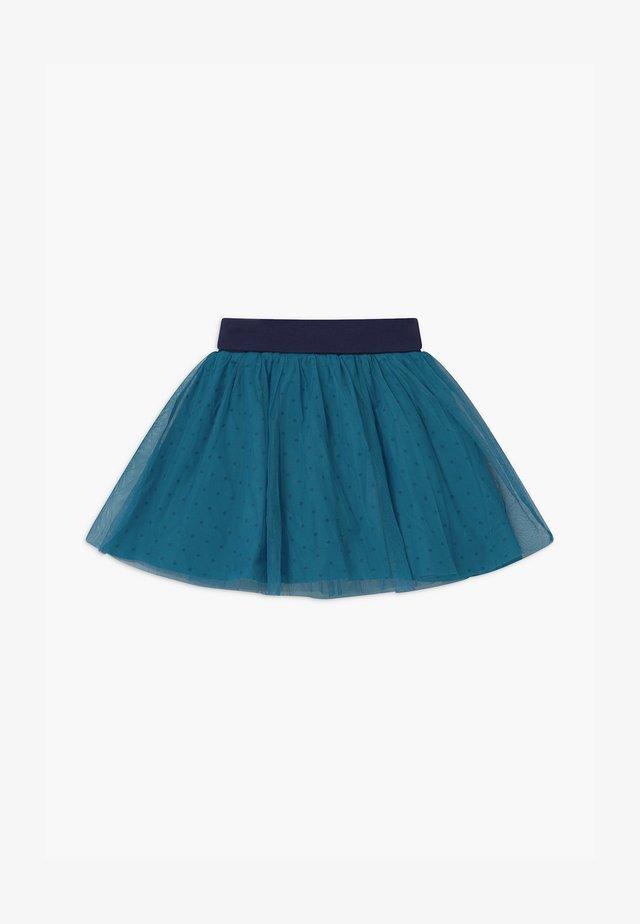 SMALL GIRLS - Jupe trapèze - blue saphire