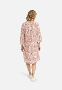 Smith&Soul - Shirt dress - burgundy print - 1