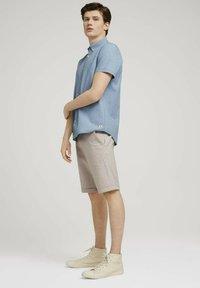 TOM TAILOR DENIM - Shirt - light indigo blue  chambray - 1