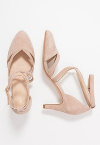 Anna Field - LEATHER - Klassiske pumps - nude - 3