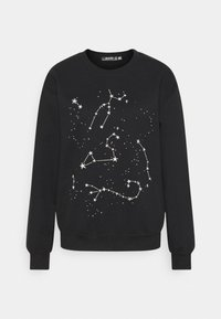 COSTELLO STAR GRAPHIC SWEATER - Sweatshirt - black