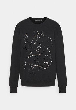 COSTELLO STAR GRAPHIC SWEATER - Mikina - black