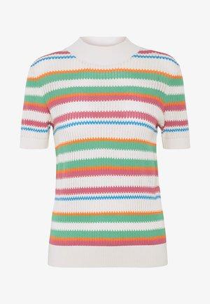 MAIK  - Print T-shirt - creme de menthe