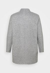 Vero Moda Curve - VMBRUSHEDKATRINE JACKET - Short coat - light grey melange - 1