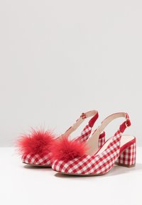 mint&berry - Classic heels - red - 4
