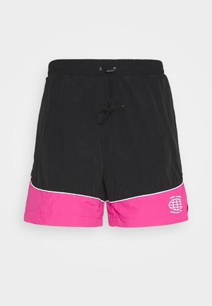 NAJOSHUA - Shorts - black/pink