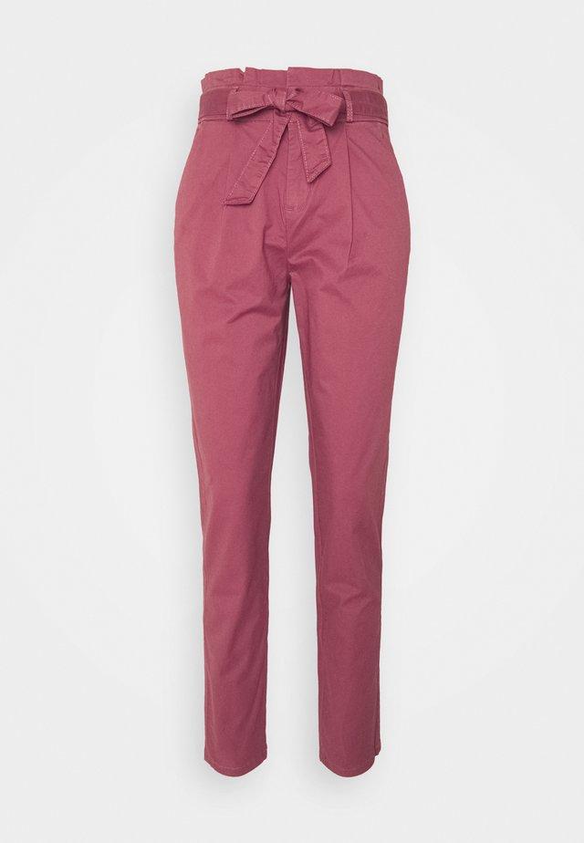 ONLPOPTRASH LIFE PANT - Pantalon classique - apple butter