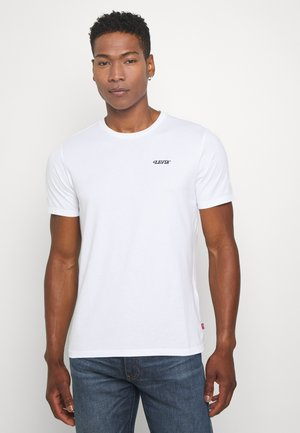 GRAPHIC CREWNECK TEE - T-shirt con stampa - white