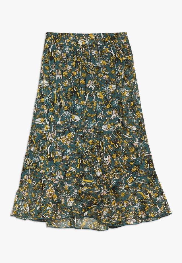 ANNELIE - A-snit nederdel/ A-formede nederdele - green