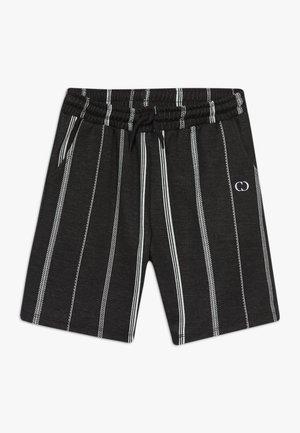 STITCH  - Teplákové kalhoty - black/white