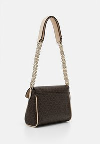 Calvin Klein - FLAP CROSSBODY - Across body bag - brown - 1