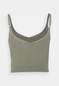 Abercrombie & Fitch - BRAMI TWINSET  - Cardigan - olive green - 3