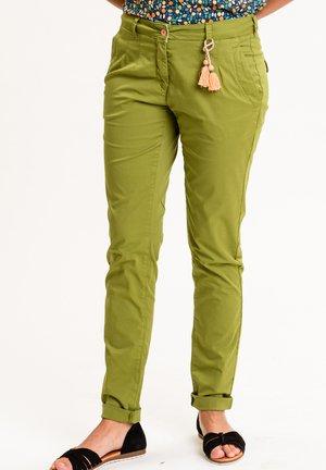 ALINAINA - Trousers - grün