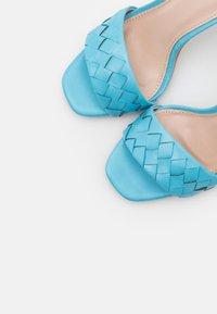 RAID - DELLA - High heeled sandals - blue - 5