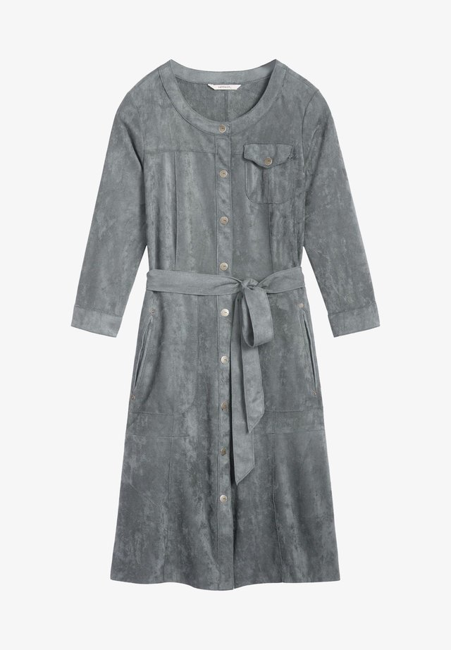 Shirt dress - dark green