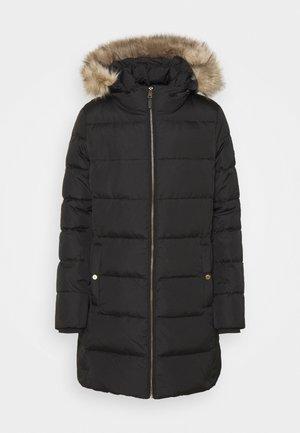 INSULATED COAT - Dunkåpe / -frakk - black