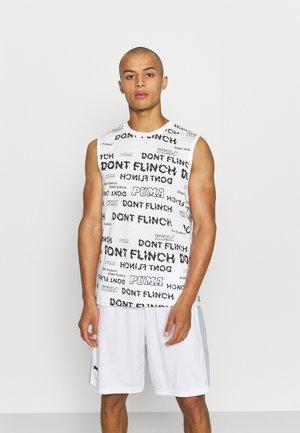 DON'T FLINCH TANK - Top - white