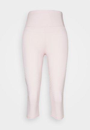 STRIPE CAPRI - Tights - pink sherbet