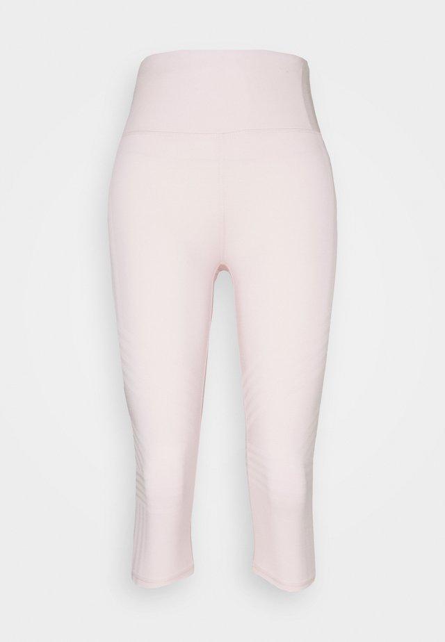 STRIPE CAPRI - Leggings - pink sherbet