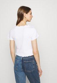 Monki - SONJA 2 PACK - Print T-shirt - off white - 2