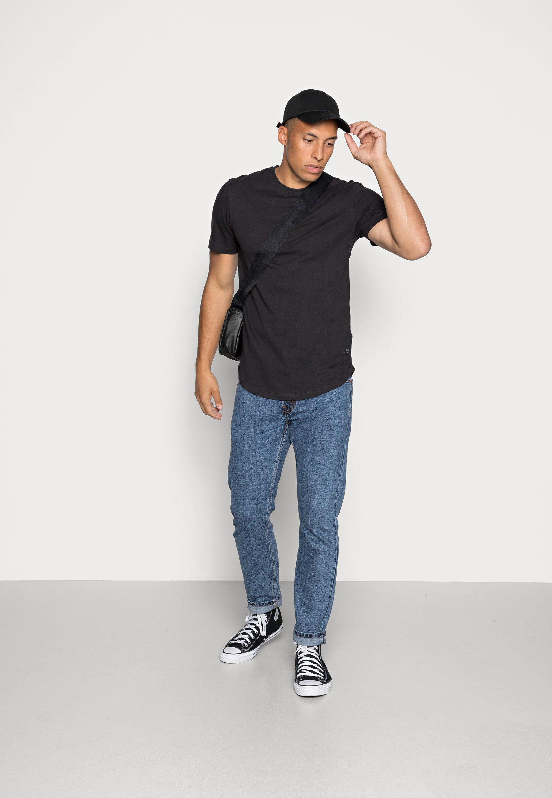 Herrer ONSMATT LONGY TEE 3 PACK - T-shirts basic