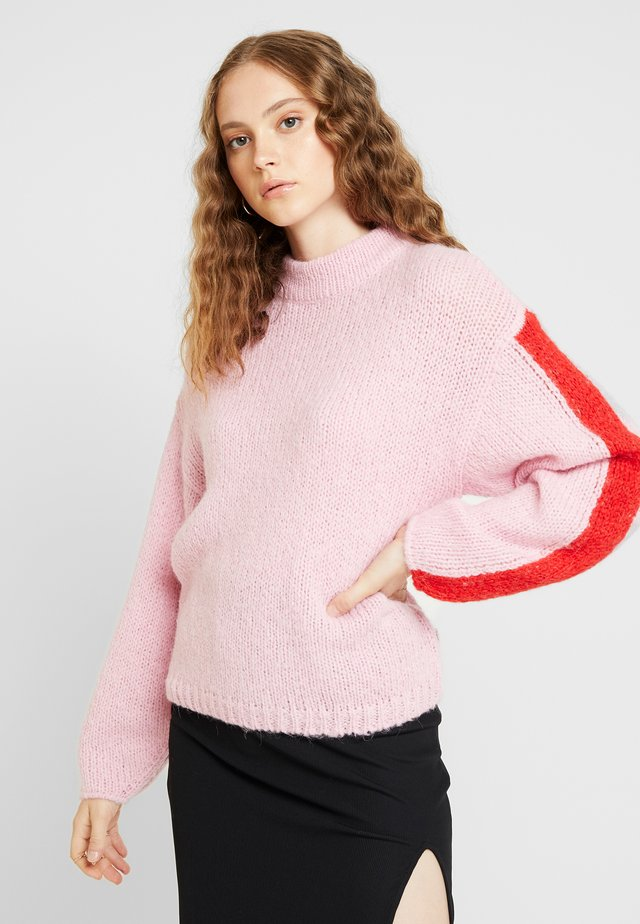 CHUNKY - Neule - frost pink